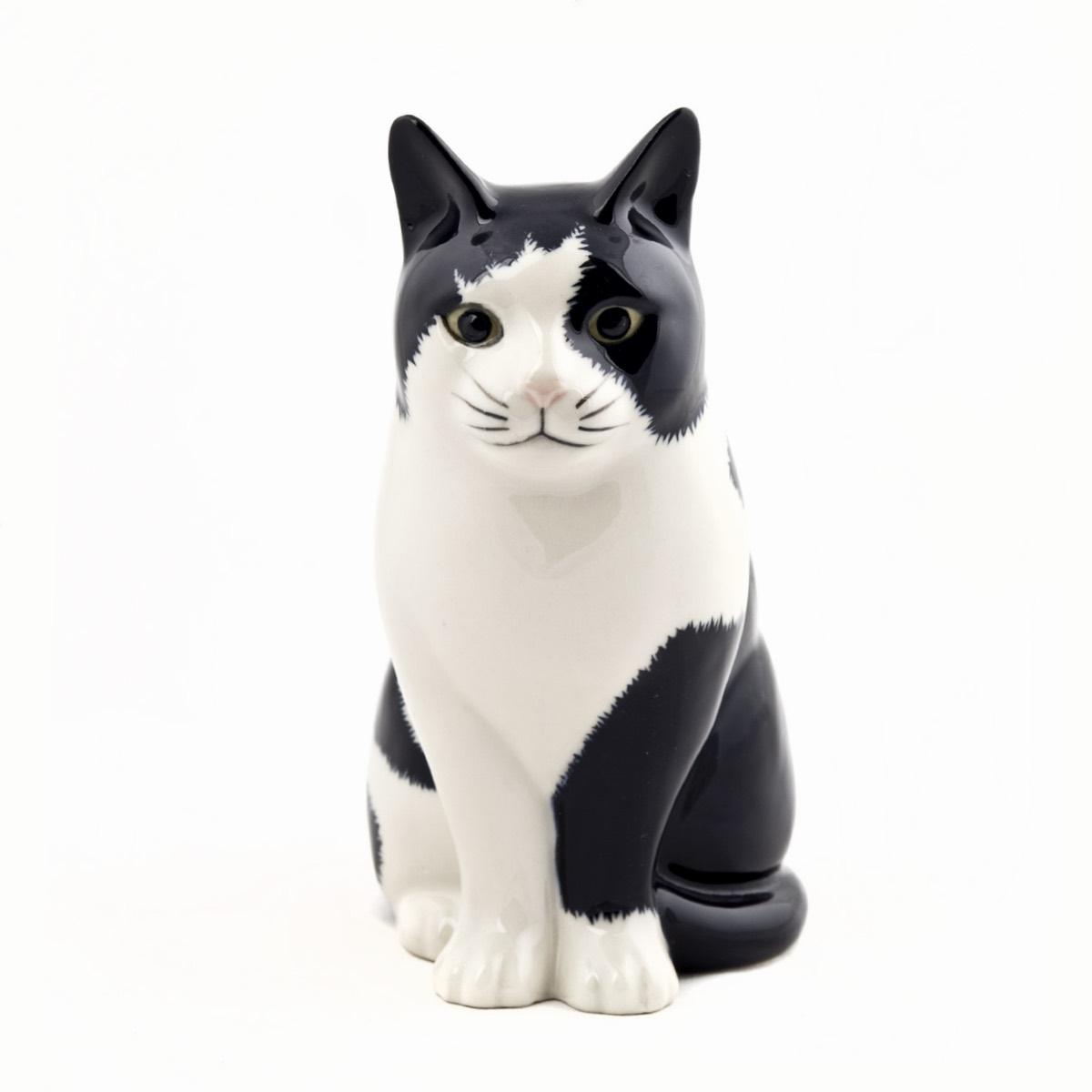 Cat Barney Flower Vase