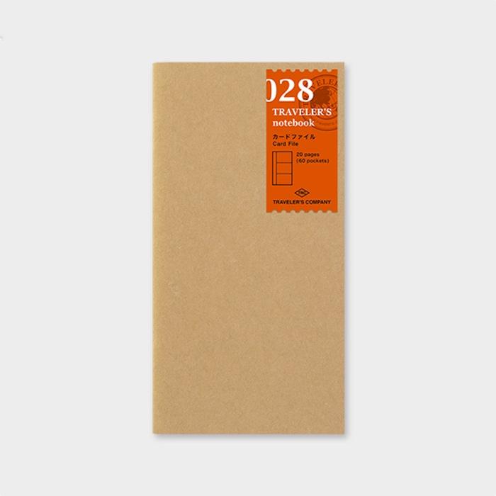 Traveler's Notebook Card File Book