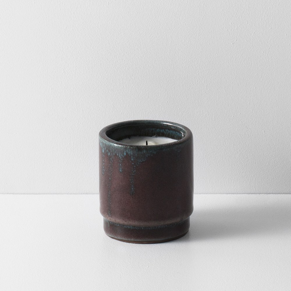 Fig Candle Ceramic Red