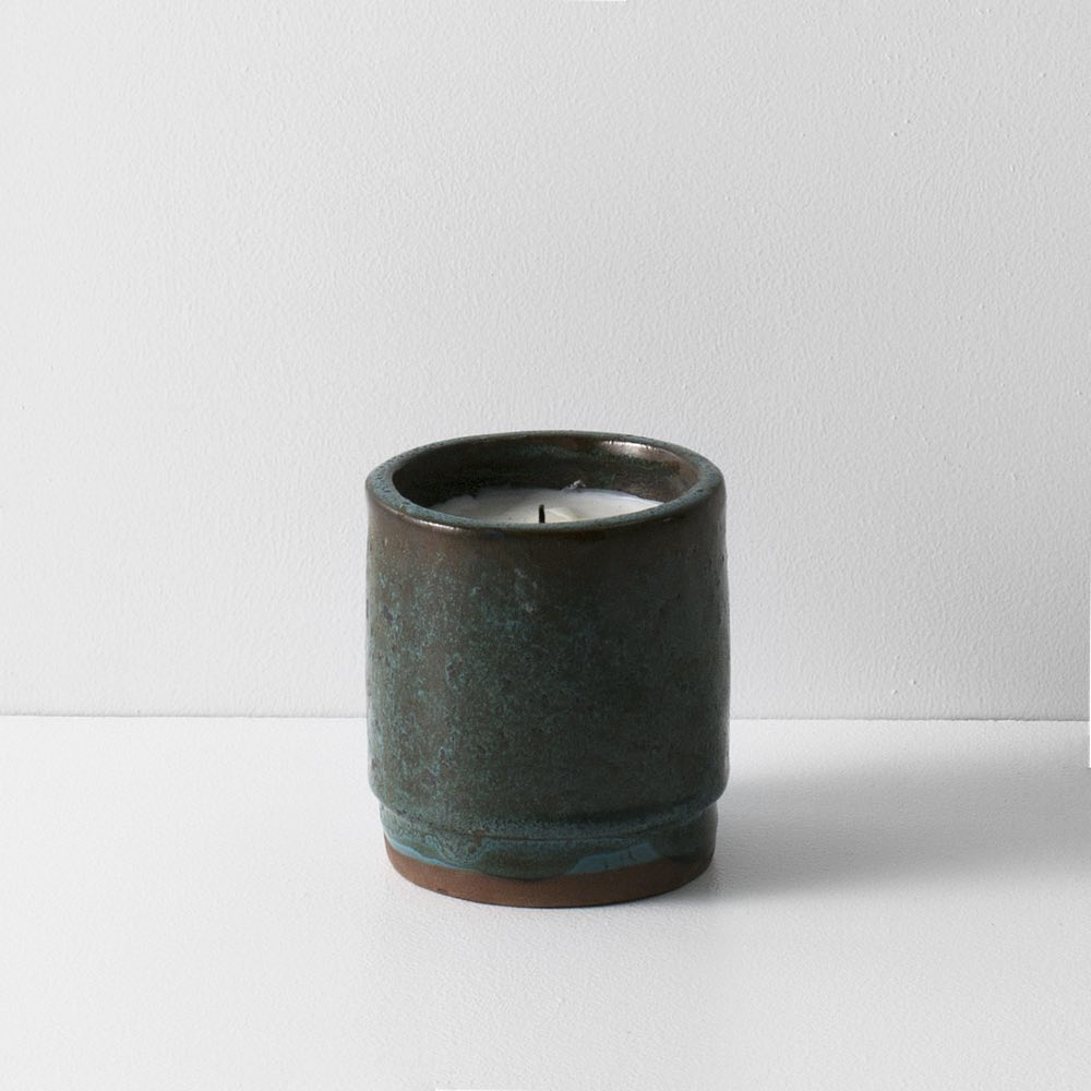 Fig Candle Ceramic Green