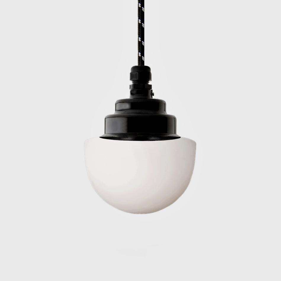 Bakelite lamp mushroom opal