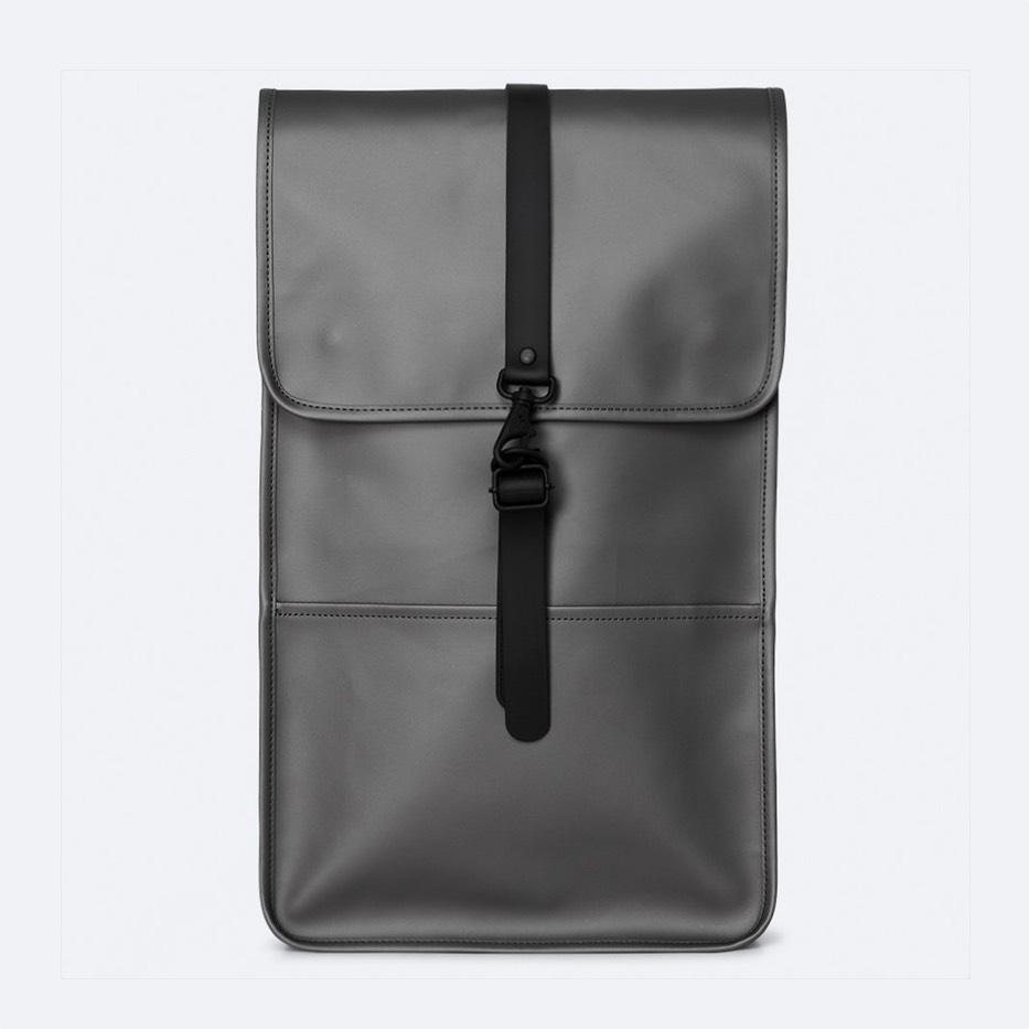 Rains Backpack Metallic Charcoal