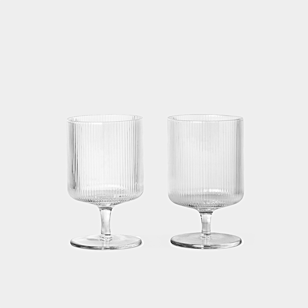 Ripple Wine Glasses