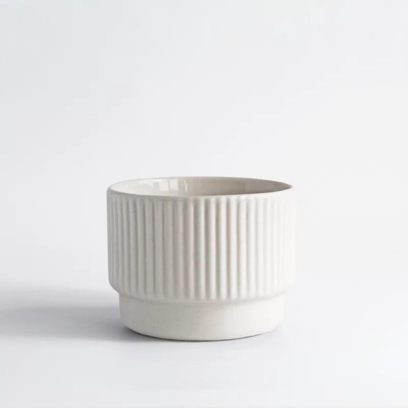 Cappuccino cup white