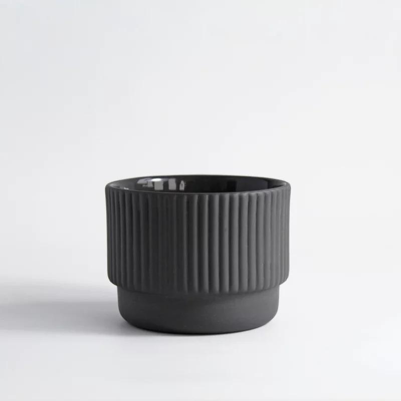 Cappuccino cup dark grey