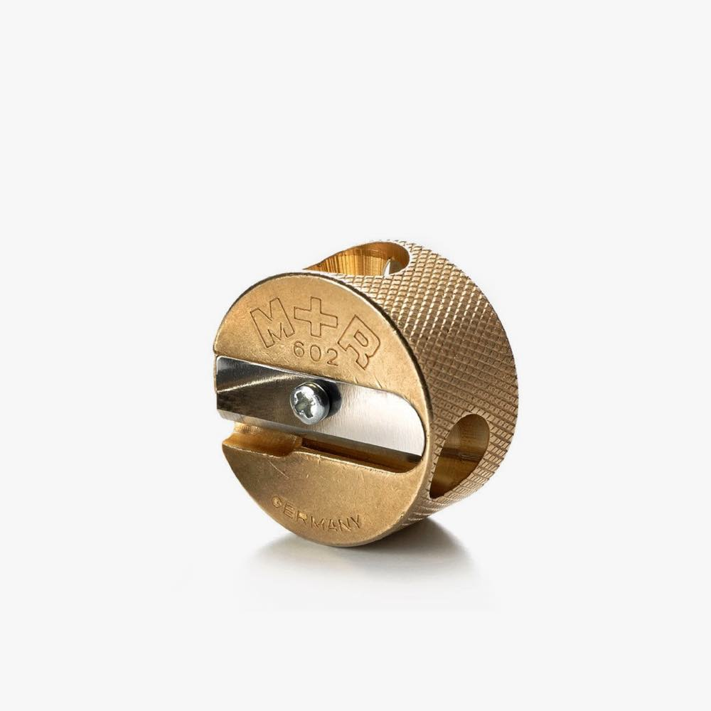 Double Hole Brass Sharpener