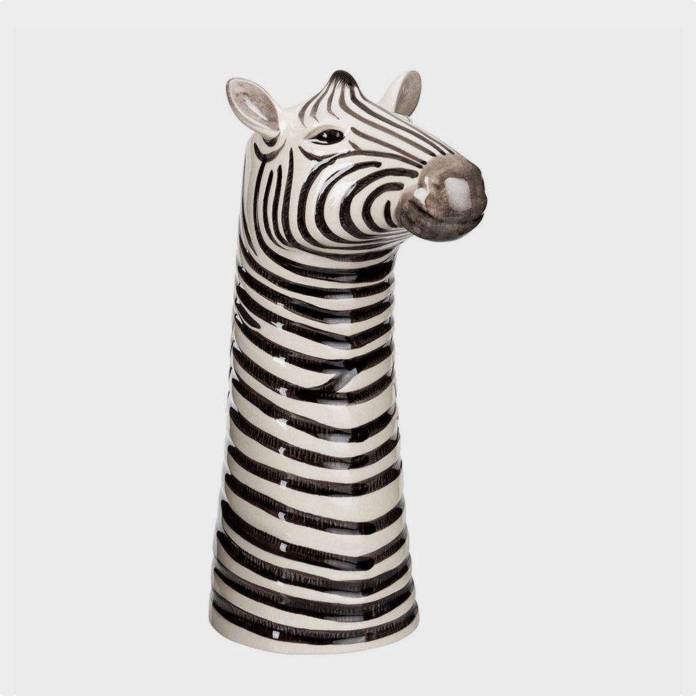 Zebra Flower Vase