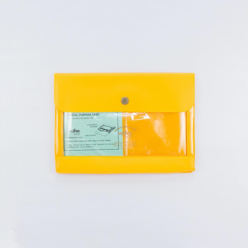 General Purpose Case A6 Yellow