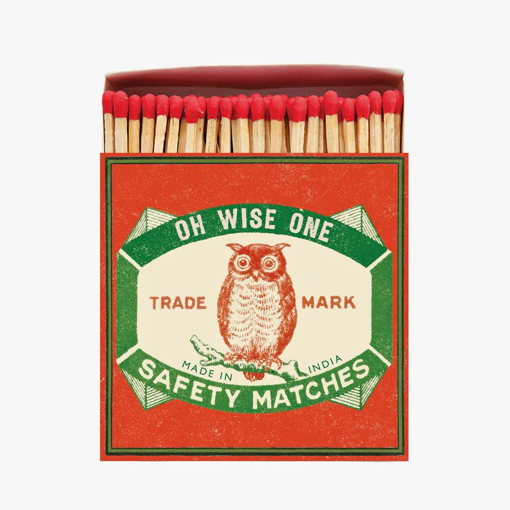 Owl Luxury Matches